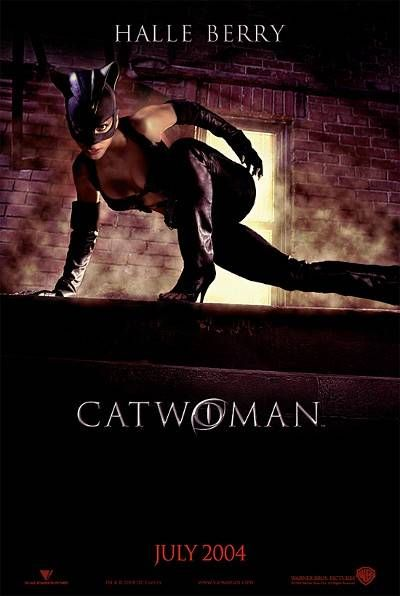 Cat Woman/Halle Berry...the movie reviews werent so good but who cares with Halle B as Catwoman! Lol