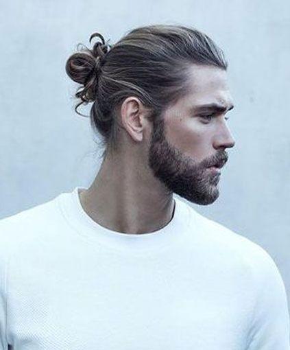 Man Bun Hairstyles For Spring 2018 Mens Fashion Hair Styles
