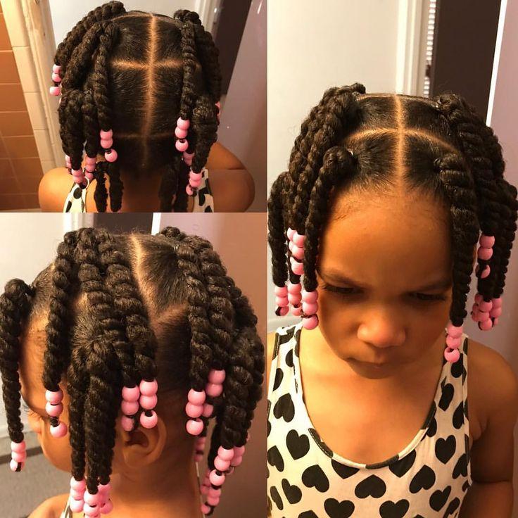 ✨#nationalhairday #naturalkids #twist #kidshairstyles #beadsbraidsbeyond #protectivestyles #myhaircrushkids #browngirlshair #kidsbraids