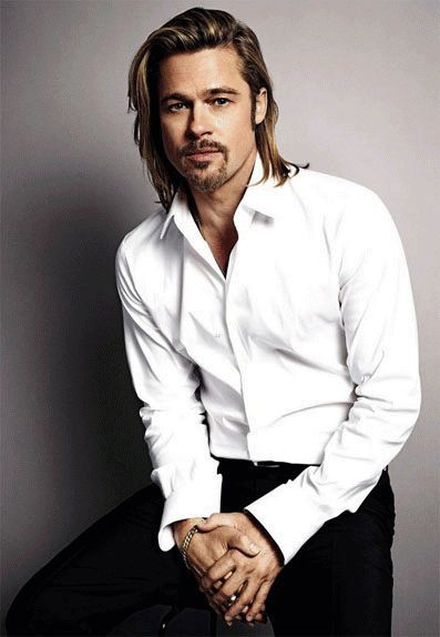 Brad Pitt. there are no words to say....