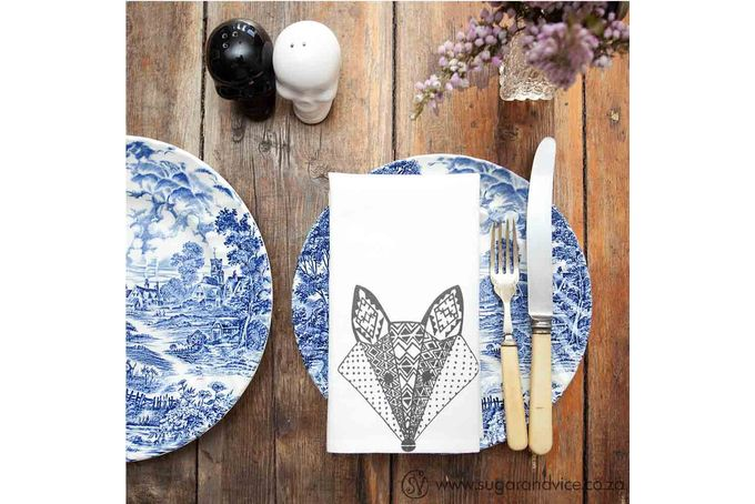 I absolutely adore these NAPKINS - VIXEN by Sugar and Vice via hellopretty.co.za