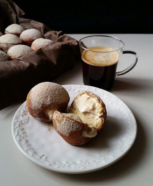 Pınar's Desserts: Kahve Kremalı Brioche Donut