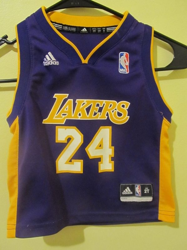 Reebok Kobe Bryant , Los Angeles Lakers jersey , Toddler 2T | Kobe ...