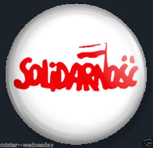 SOLIDARNOSC button or magnet POLISH TRADE UNION SOLIDARITY WALESA WARSAW GDANSK @eBay! http://r.ebay.com/TdMFCp