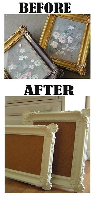 Look what they did with a thrift store find. From ugly to beautiful! Before and After