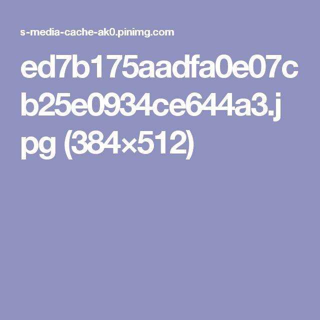 ed7b175aadfa0e07cb25e0934ce644a3.jpg (384×512)