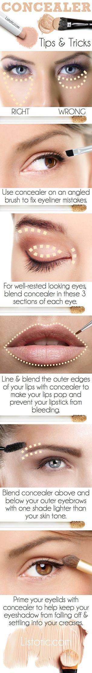 Handy tips for make up!