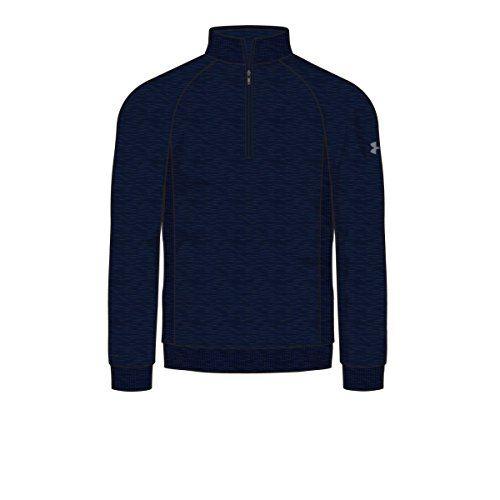 2016 Under Armour Flagstick Storm Sweater Fleece 1/4 Zip Mens Golf Pullover  Academy/