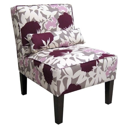 I pinned this Emma Accent Chair in Peony Plum from the Jolly Jewel Tones event at Joss and Main!