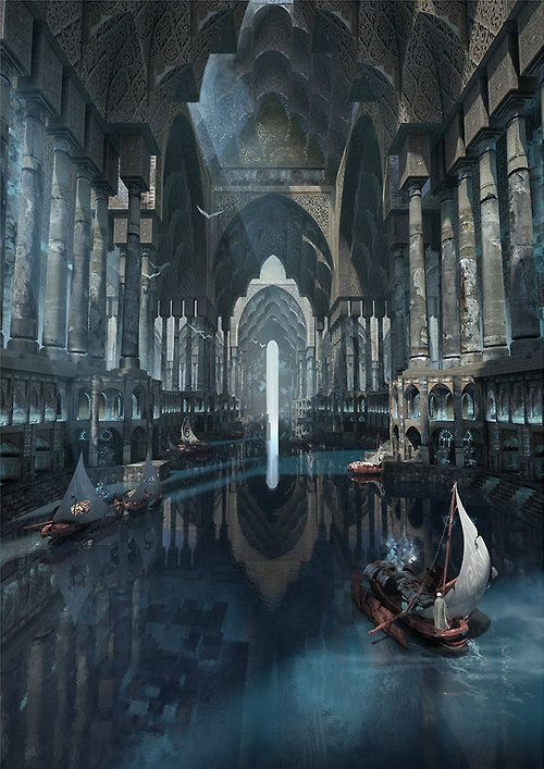 Galley Canal by Te Hu