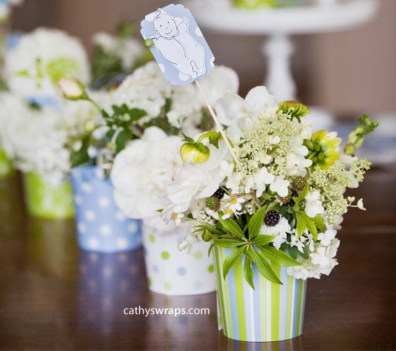 Vanessa's Baby Shower Decorations & Whimsical di cathyswraps