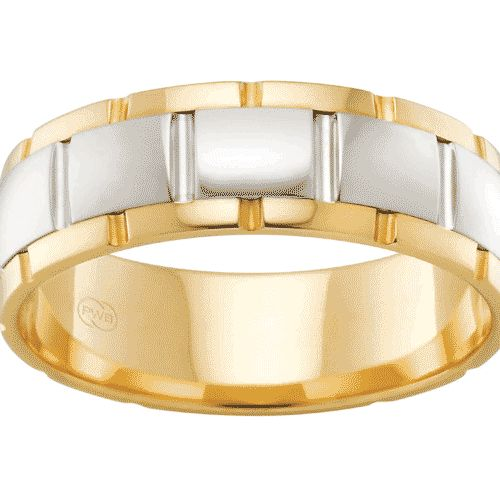 A ring from the 'mixed metal' collection from Peter W Beck