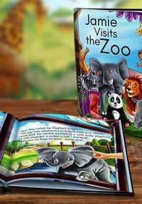 Hardcover or Soft Cover Personalized Kids' Book: Dinkleboo