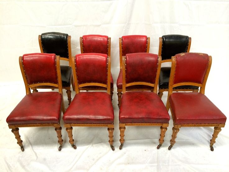set 8 antique oak chairs set eight mid victorian oak dining chairs