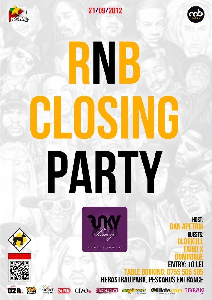 21/09 Last RnB Party of the season @ Funky Breeze Herastrau ..see ya next year ;)