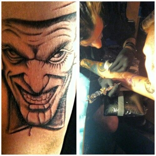 28 best Andy Biersack Getting A Tattoo images on Pinterest ...