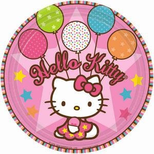 A559303 - Hello Kitty Plates Please note: approx. 14 day delivery time. www.facebook.com/popitinaboxbusiness
