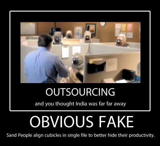 Obvious fake