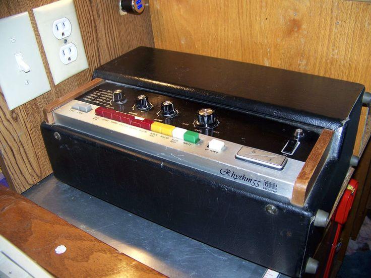 Roland TR-55 Drum Rhythm Machine - Tested and Works! #Roland
