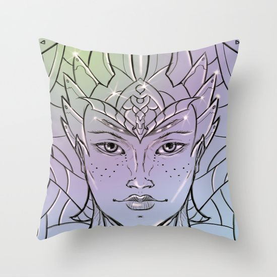 Women of Ice Throw Pillow