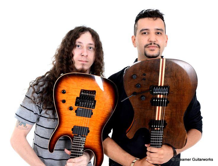 Hussein Haddad & Ivan Melo https://www.facebook.com/dreamerguitars