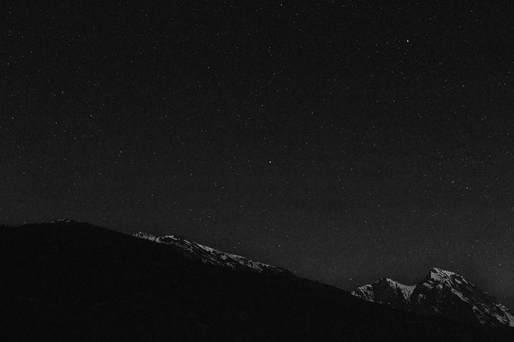 stars above alps (photo by Zuza Ganczewska)