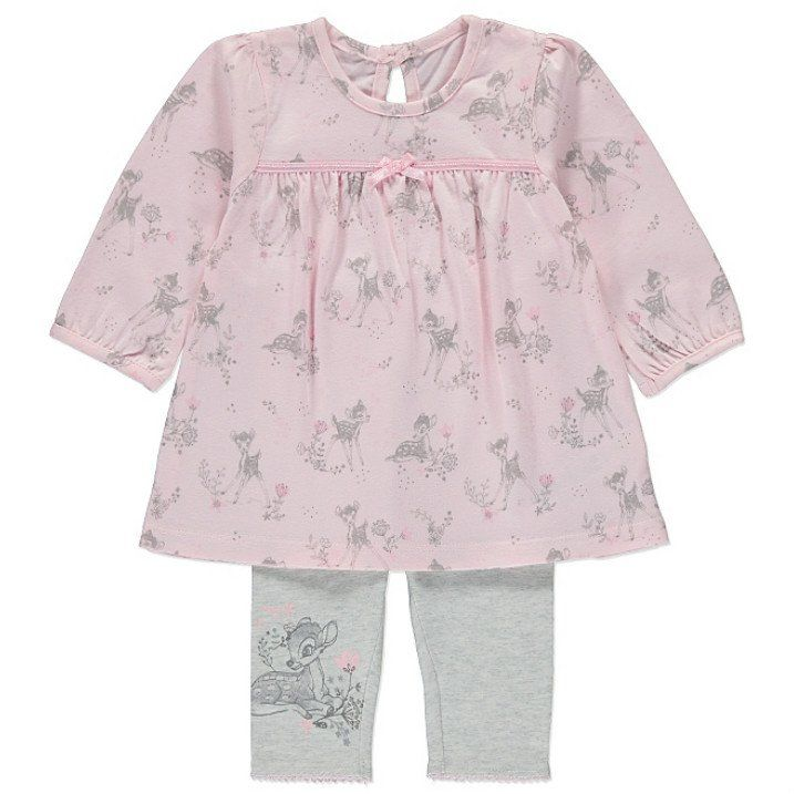 Disney Bambi vauvan paita & legginsit setti