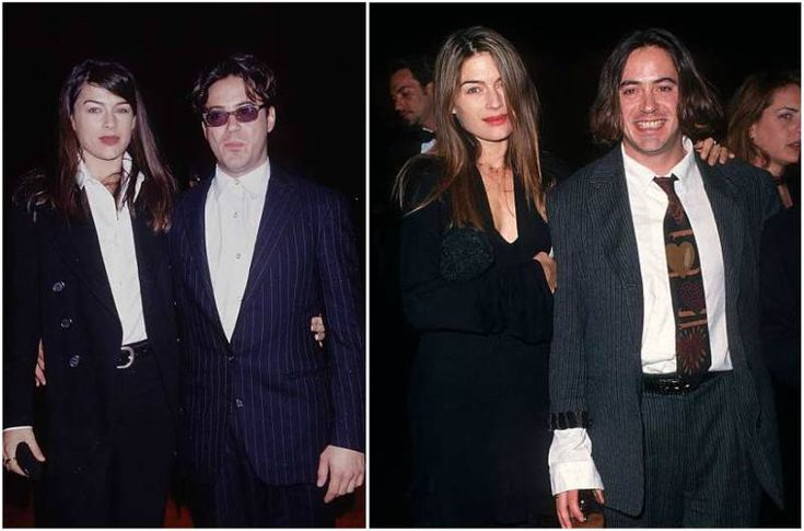 Robert Downey Jr. then-wife Deborah Falconer