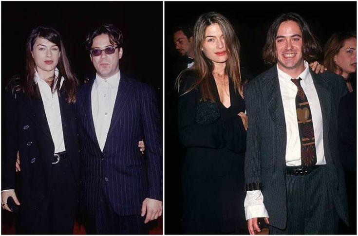 Robert Downey Jr. then-wife Deborah Falconer