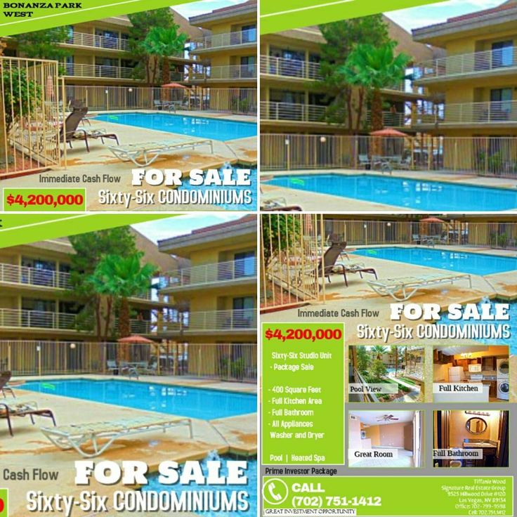 Photo Gallery For Photographers Bonanza Park West Condominiums W Bonanza Road Las Vegas Nevada ALL SIXTY