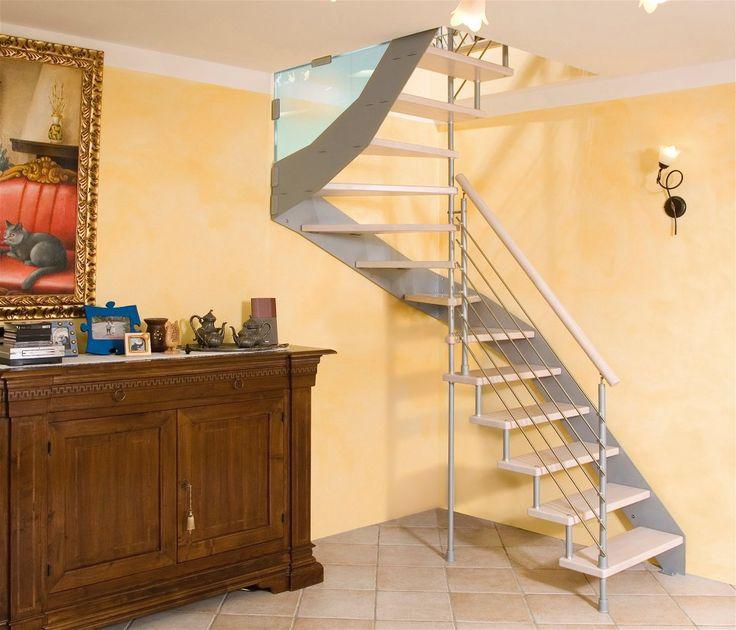 Oltre 25 fantastiche idee su piccoli spazi su pinterest for Casa scala a chiocciola
