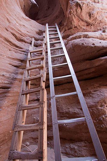 Ladder Canyon, a slot canyon near Indio, California