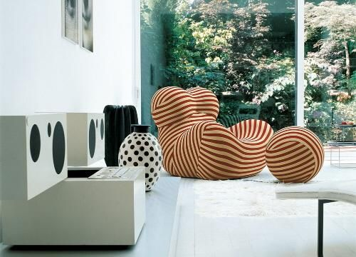 Up Chair by Gaetano Pesce.