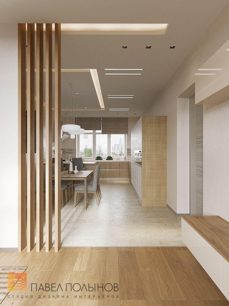 Фото: Дизайн зоны гостиной - Интерьер дома в современном стиле, коттеджный поселок «Небо», 272 кв.м.