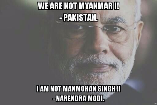 I m damn sure, he ll talk for peace but also prepare for war. He is best for good and worst for bad. #MyanmarStrike