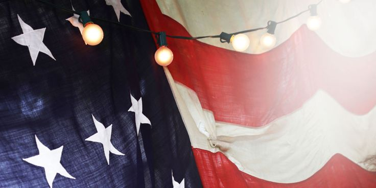 Displaying the Flag: Proper American Flag Etiquette  - CountryLiving.com