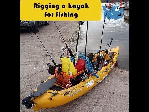 Rigging a kayak for fishing