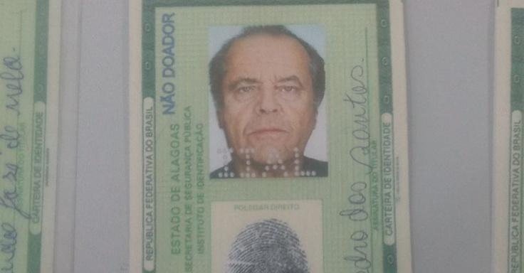 O Jack Nicholson brasileiro...