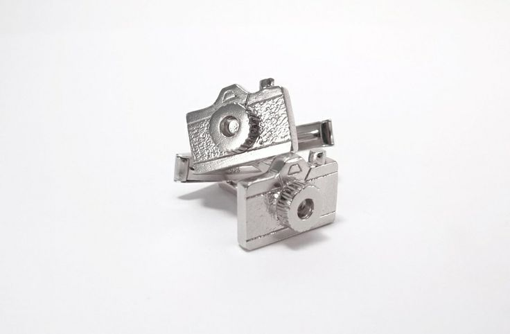 Camera cufflinks / Mancornas de camarita - MoodSwings Design