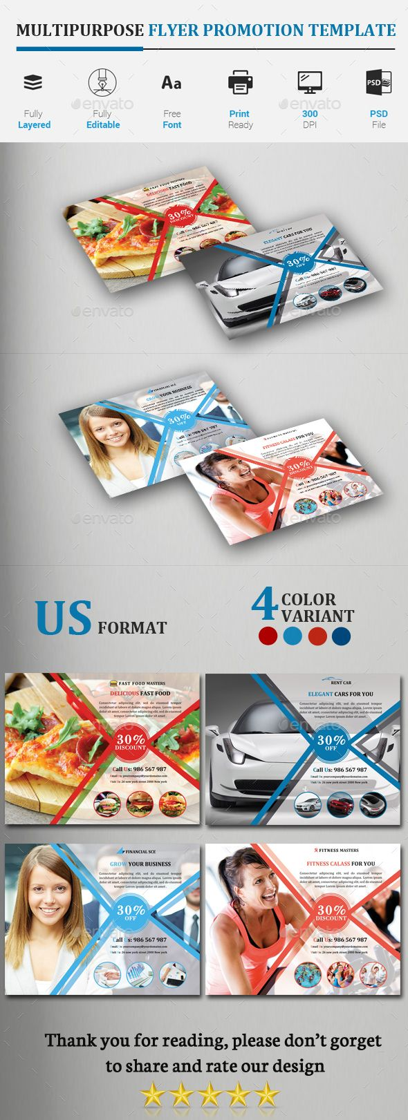 Best Beauty And Fashion Flyers  Print Template  Psd Images
