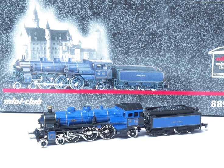 88921 Marklin Z 5 pole Blue King Ludwig Locomotive Royal Bavarian Class S 3/6 #Marklin $389