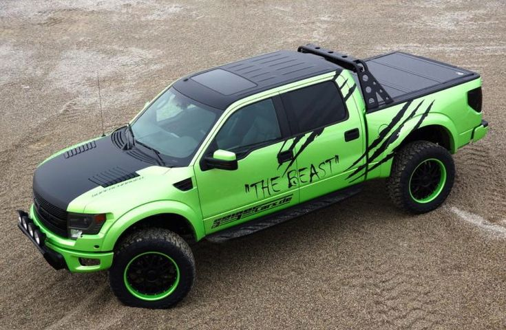 Geiger Cars Makes The Ford F-150 SVT Raptor Even More Ferocious