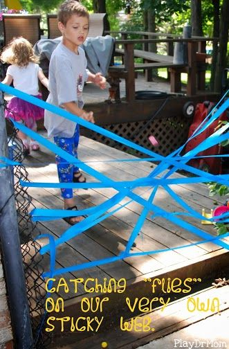 Sticky Web Game and other spider activities