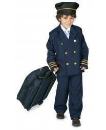 Disfraz de Piloto de Avión Infantil