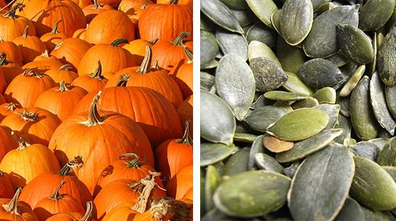 With October less than a month away, did you know that pumpkin seeds are a great way to boost your testosterone naturally.