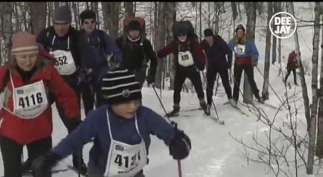 """@DeejayTV replica Fino alla fine del mondo: """"Canadian ski marathon"""" #finedelmondo #sport #sportestremi"""