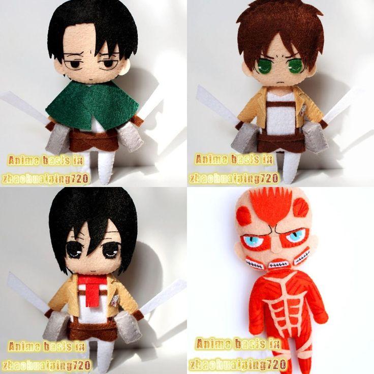 Anime Attack on Titan Mikasa Ackerman Lindo Llavero Llavero Hecho a Mano Muñeca De Felpa | Objetos de colección, Dibujos animados y personajes, Anime japonés | eBay!
