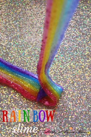 Rainbow Slime: Teach Kids the Order of the Rainbow Using this Fun Sensory Play Activity