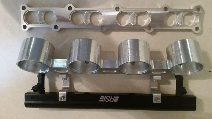 intake manifold, before adding tubs