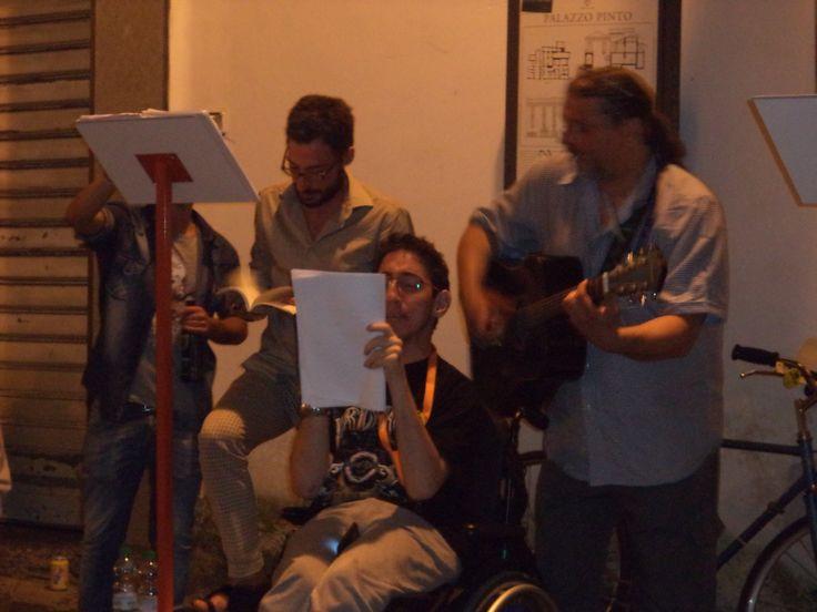I Cantastorie di Via dei Mercanti. Salerno Letteratura Festival 2014